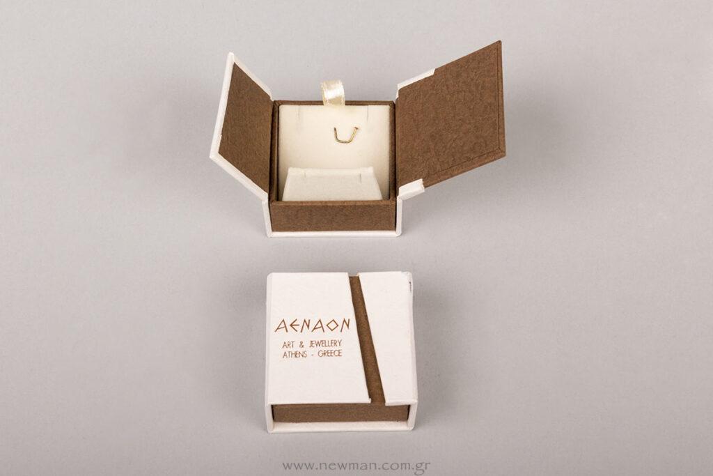 Κουτί της σειράς BJ με βάση για κρίκο/σκουλαρίκι