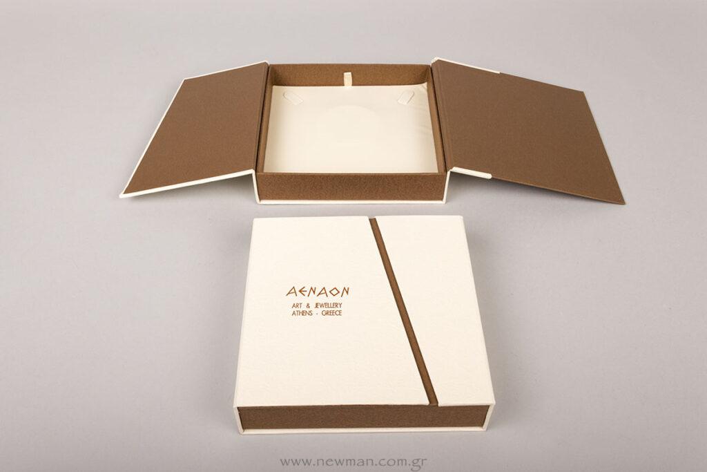 Κουτί της σειράς BJ για σετ κοσμημάτων