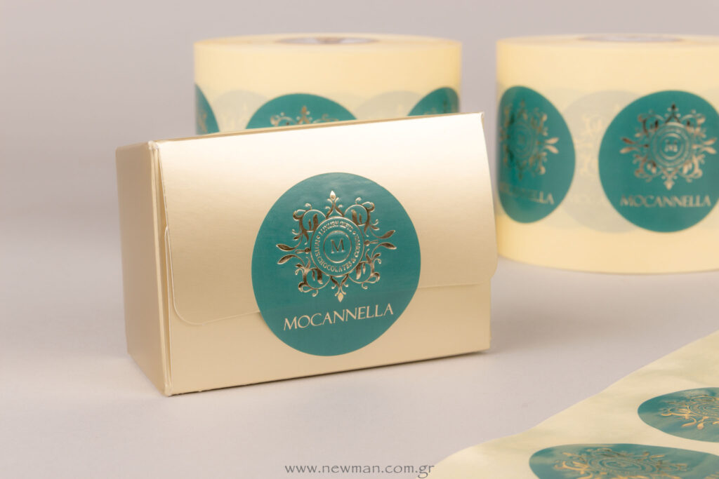 Mocannella sticker labels