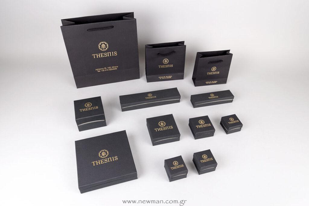 PN σειρά κουτιά κοσμημάτων με λογότυπο