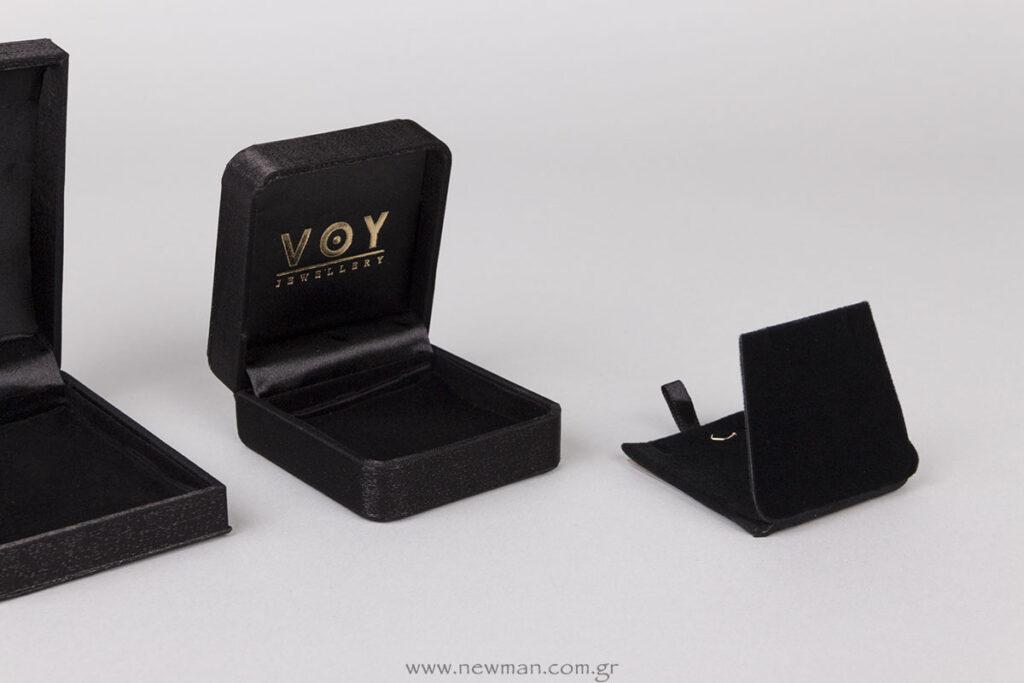 Κουτί με λογότυπο για μενταγιόν/σταυρό/σκουλαρίκια