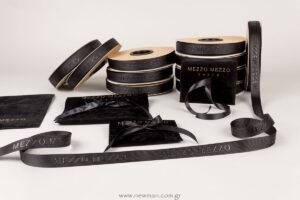 Mezzo Mezzo Corfu: Εκτύπωση σε κορδέλα και πουγκιά