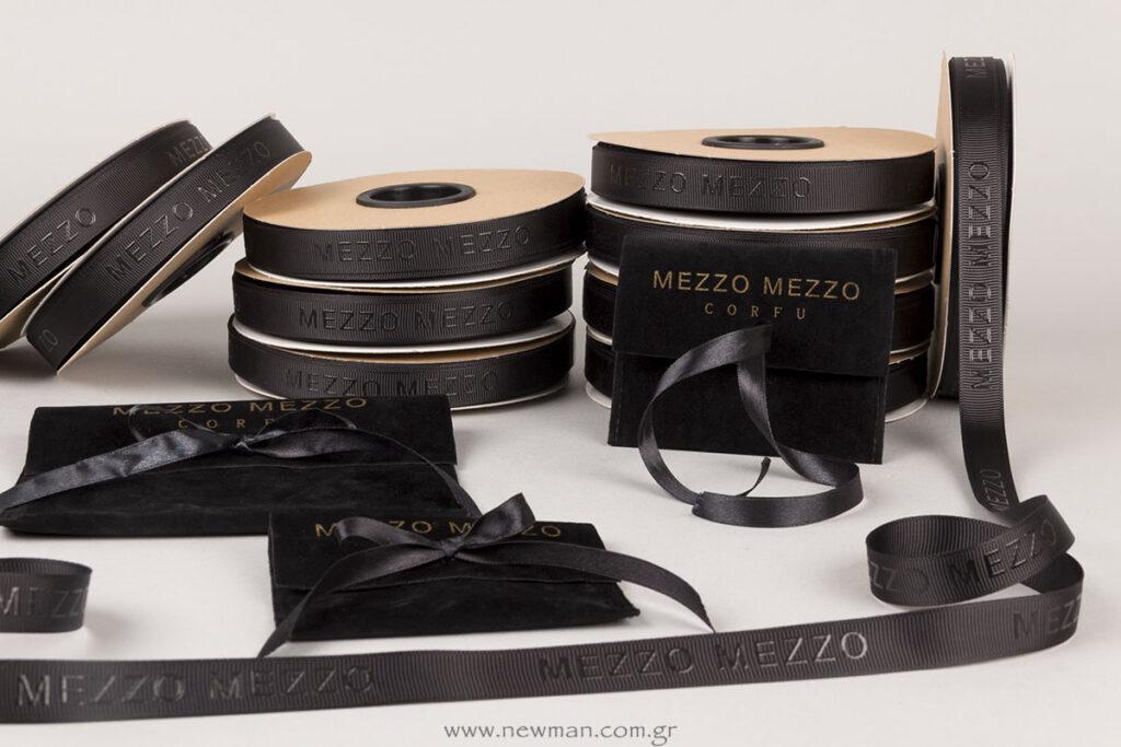 Mezzo Mezzo Corfu: Εκτύπωση σε κορδέλα & πουγκιά