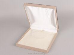 054003 Λινό κουτί για κολιέ μεγάλο