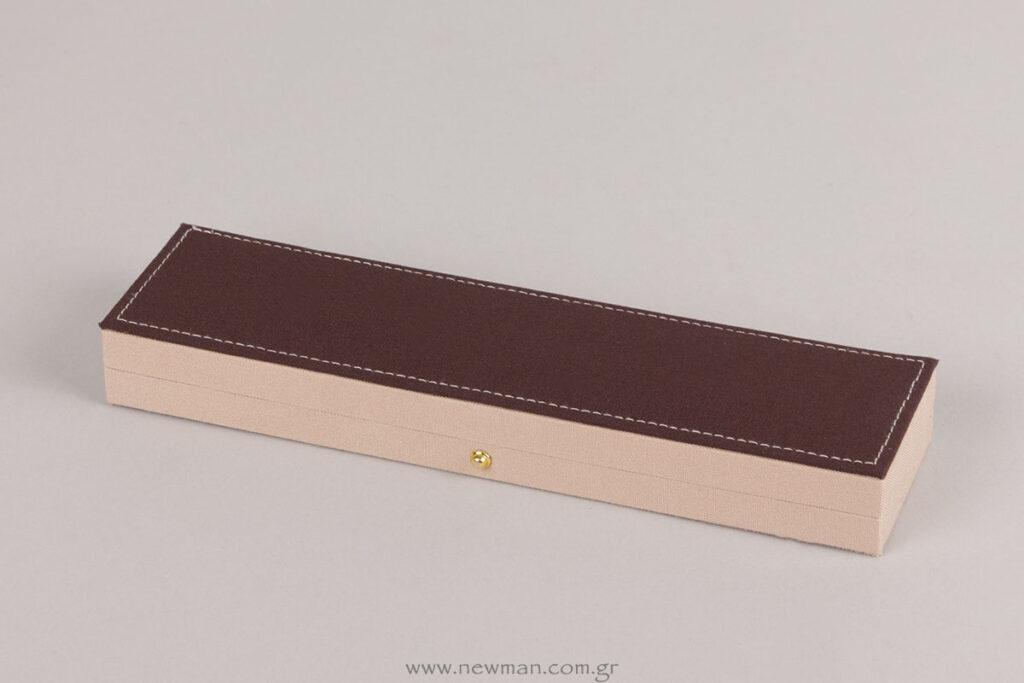 054004 Λινό κουτί για βραχιόλι/ρολόι