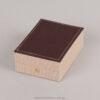 054001 Λινό κουτί για σταυρό/μενταγιόν
