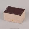 054006 Λινό κουτί για βέρες