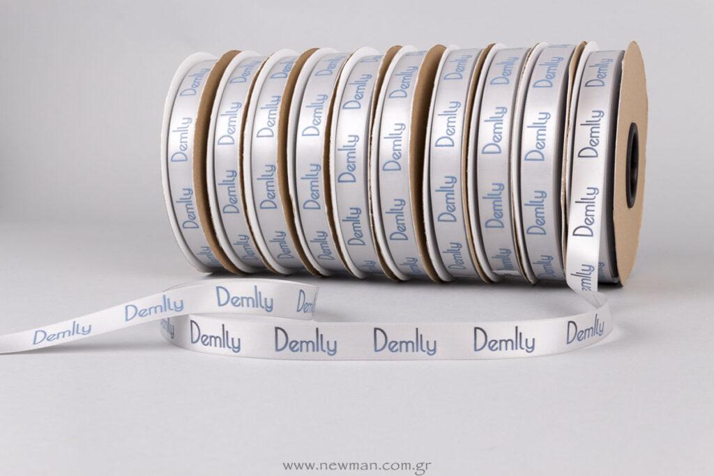 Demily: Ανάγλυφη εκτύπωση σε κορδέλα