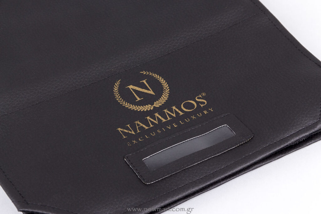 Nammos logo on Jewellery Rolls