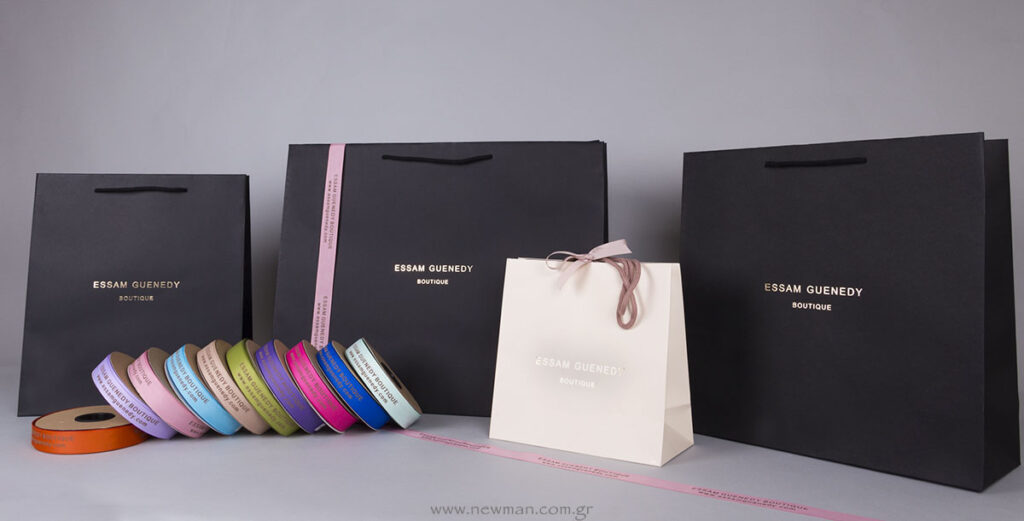 Custom Packaging for Essam Guenedy Boutique