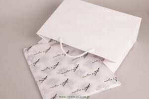 Tissue paper with dimentions 50x70 with printed logo