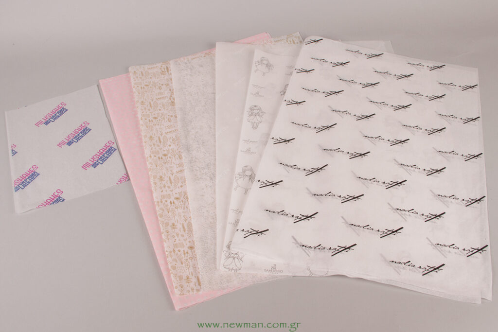 TIssue Paper 50x70cm with printed logo
