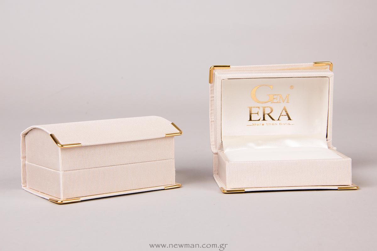 Κουτί για βέρες σειράς DCS με εκτύπωση του Logo Gem ERA