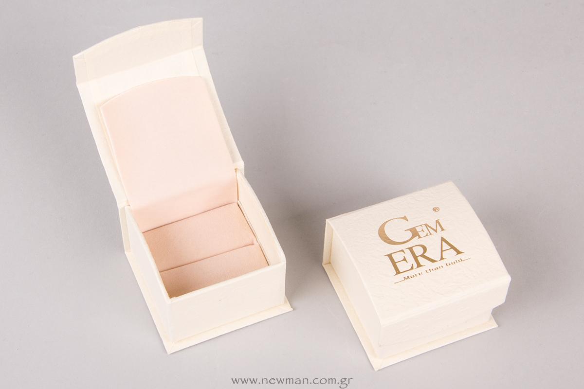 Κουτί για λεπτό δαχτυλίδι της σειράς DRP με το Logo Gem ERA