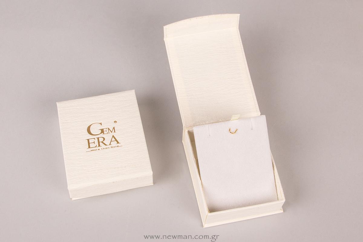 Κουτί για σταυρό της σειράς DRP με το Logo Gem ERA
