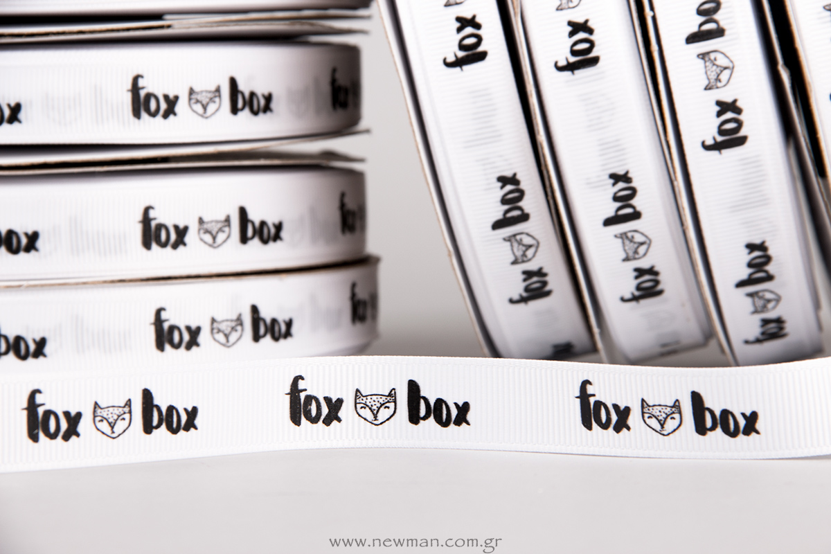 Printed-Gross-ribbon-for-the-store-Fox-Box