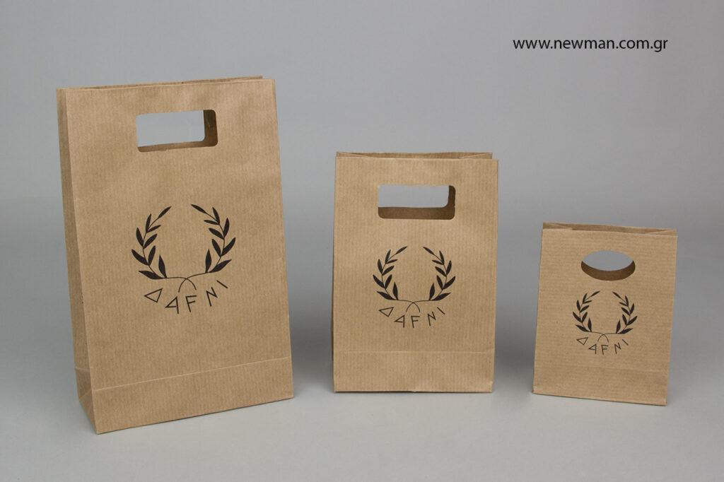 Dafni Sotiropoulos store: Εκτυπωμένες τσάντες συσκευασίας.