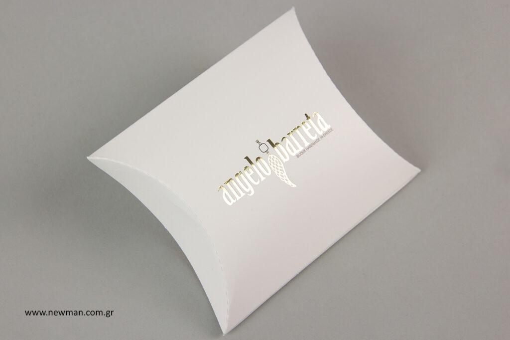Είδη συσκευασίας με εκτυπώσεις και σχεδιασμό λογότυπων by Newman.