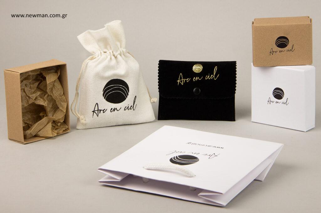 Arc En Ciel: Τυπωμένα προϊόντα συσκευασίας για κόσμημα.