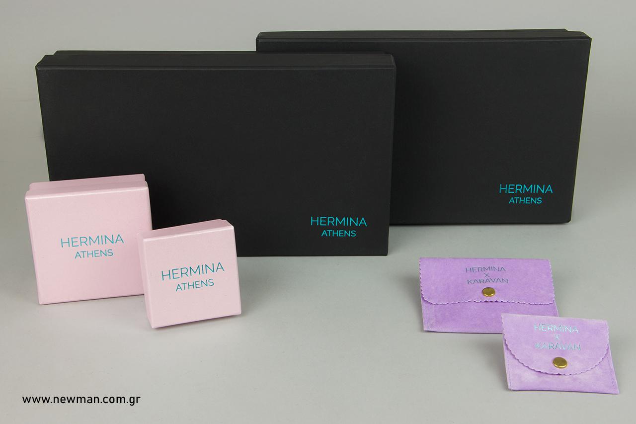 Hermina Athens: Τυπωμένα είδη συσκευασίας Newman.