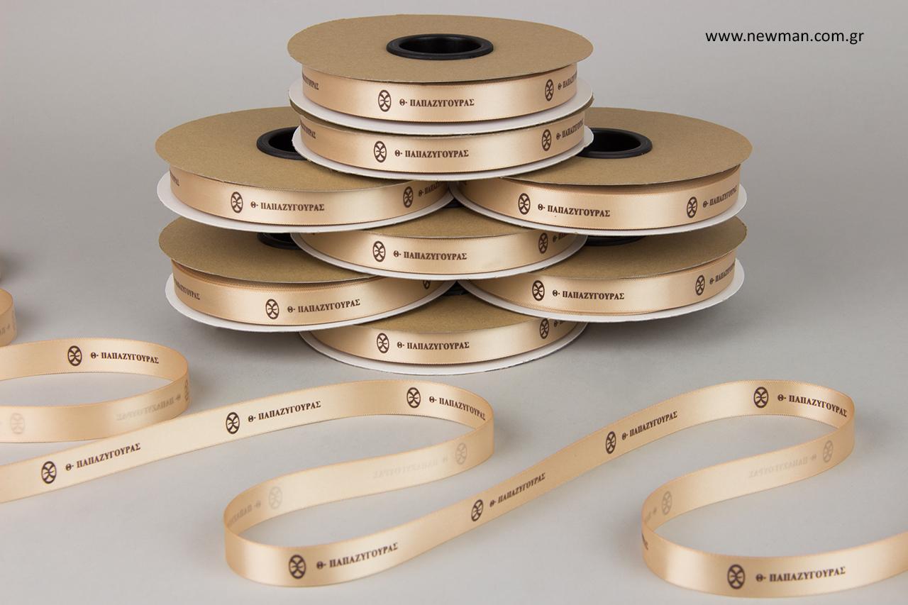 Papazigouras Refined Jewelry: Print on wholesale ribbons.