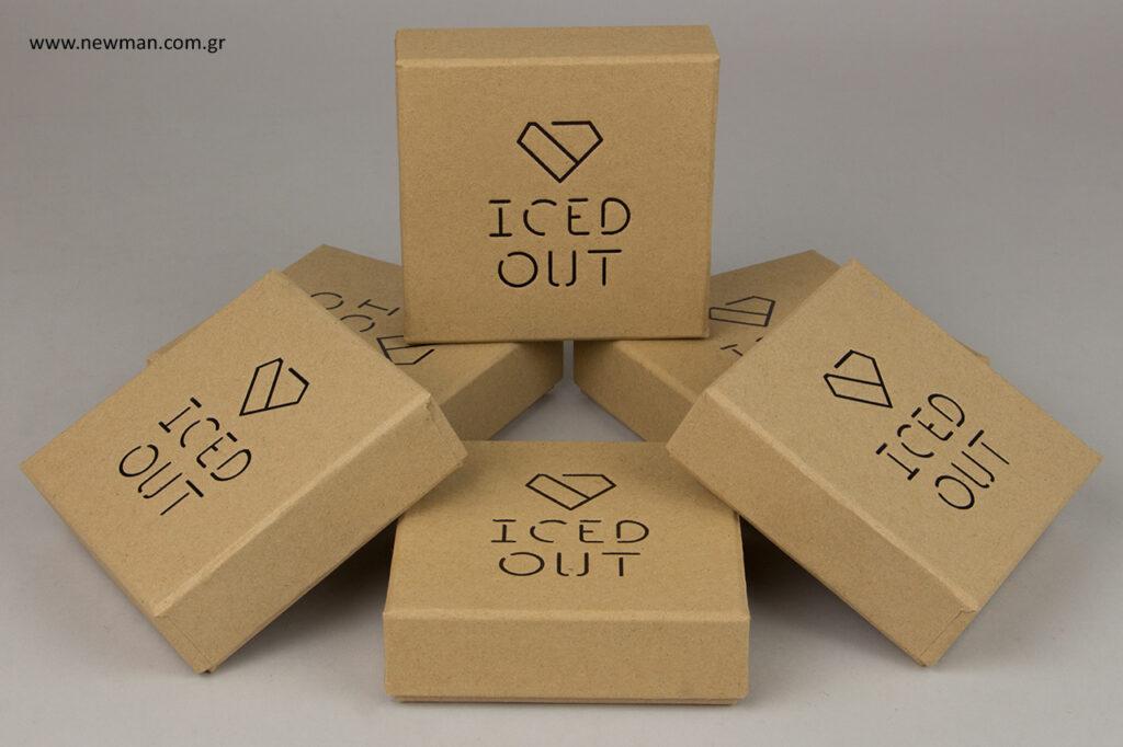 Σχεδιασμός - Εκτυπώσεις σε κουτιά - Κουτί ειδική παραγγελία