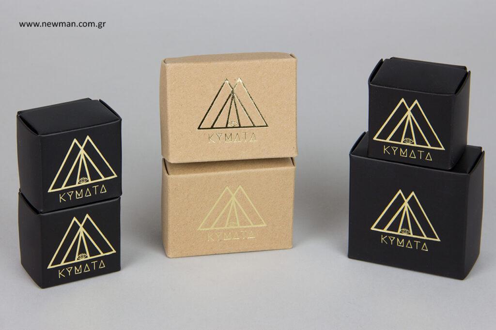Τυπωμένα κουτιά μπιζού NewMan.