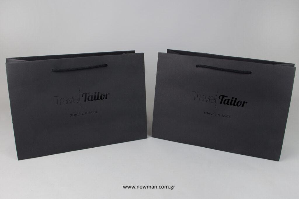 Τσάντες πολυτελείας με εκτύπωση σε μεταλλοτυπία.