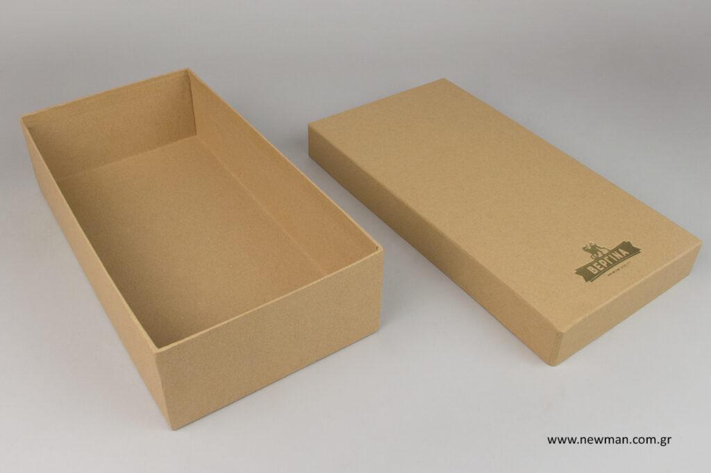 Κουτιά δώρου με χωρητικότητα για δύο φιάλες.