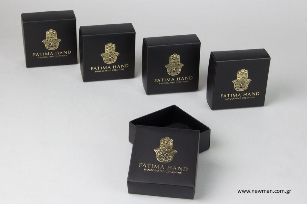Υποστήριξη στο σχεδιασμό συσκευασίας, τις εκτυπώσεις και το branding.