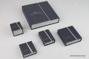 Μαρία Ψυχαράκη Jewels: Τυπωμένα κουτιά κοσμημάτων NewMan.