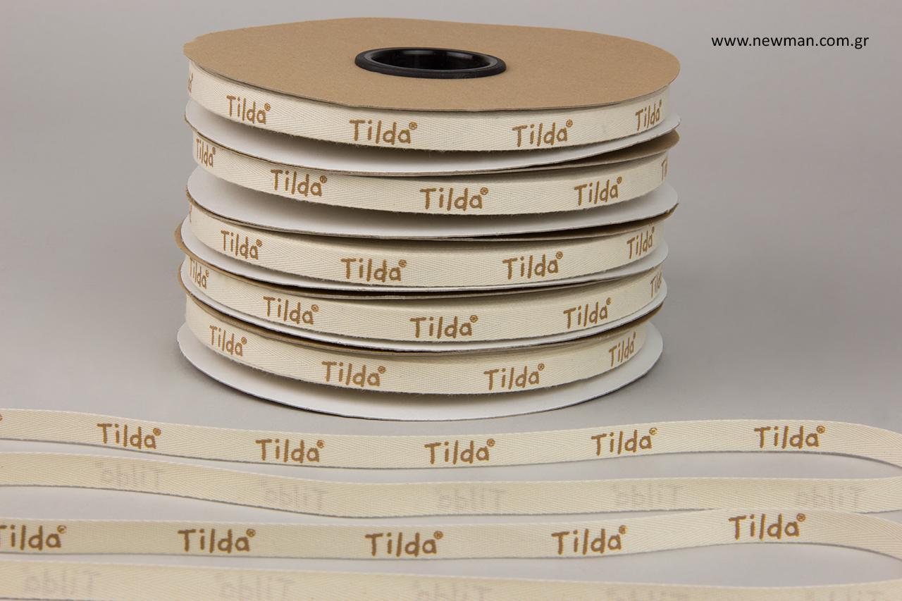 """Κορδέλα """"Tilda"""" με εκτύπωση."""