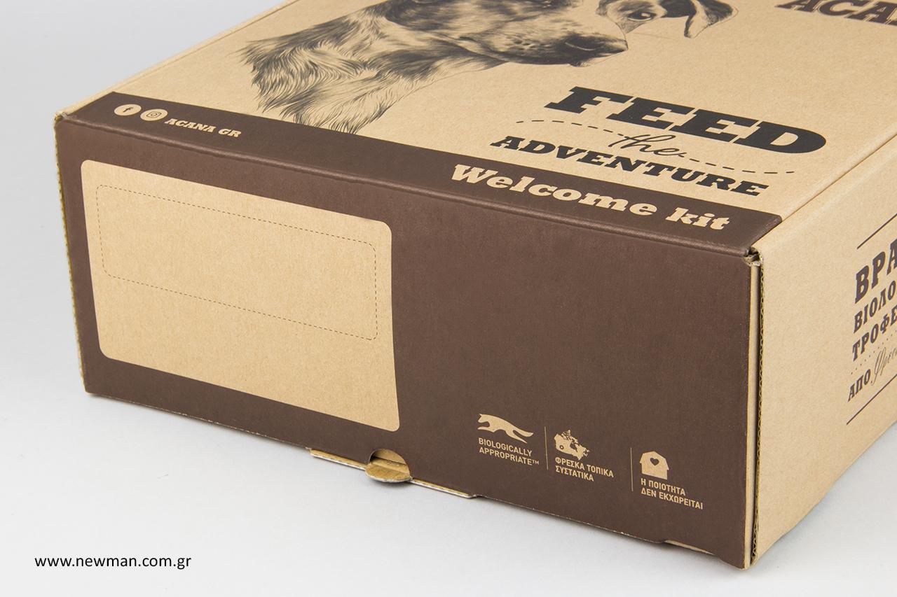 Κουτιά κραφτ για ταχυδρομείο και εταιρείες κούριερ.