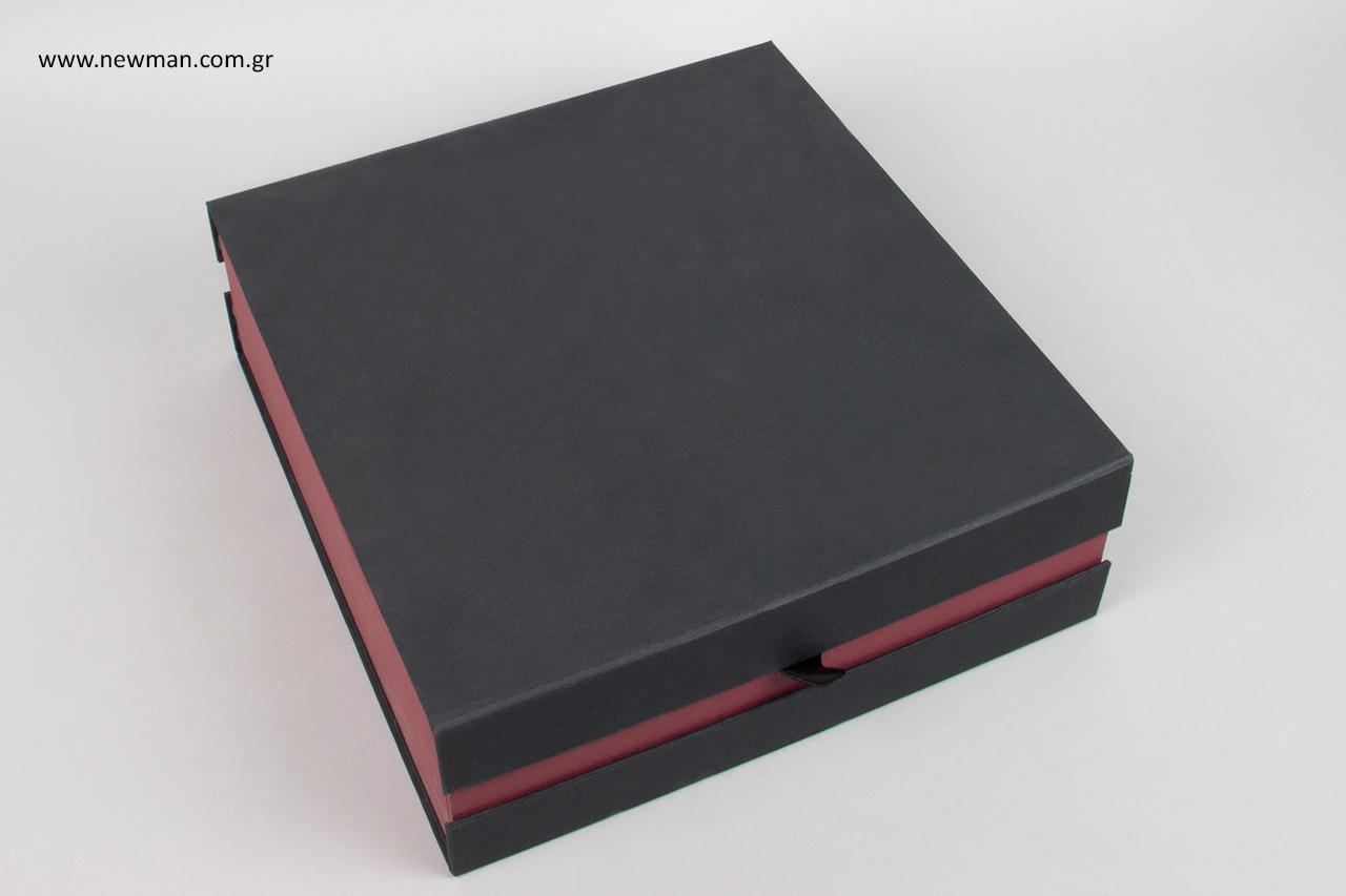 Παραγωγή εξατομικευμένων κουτιών συσκευασίας.