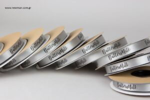 Buttermilk εργαστήριο ζαχαροπλαστικής: Τυπωμένες κορδέλες με μεταξοτυπία.