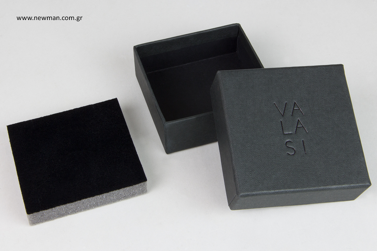 Custom-made κουτιά κοσμημάτων με εκτύπωση.
