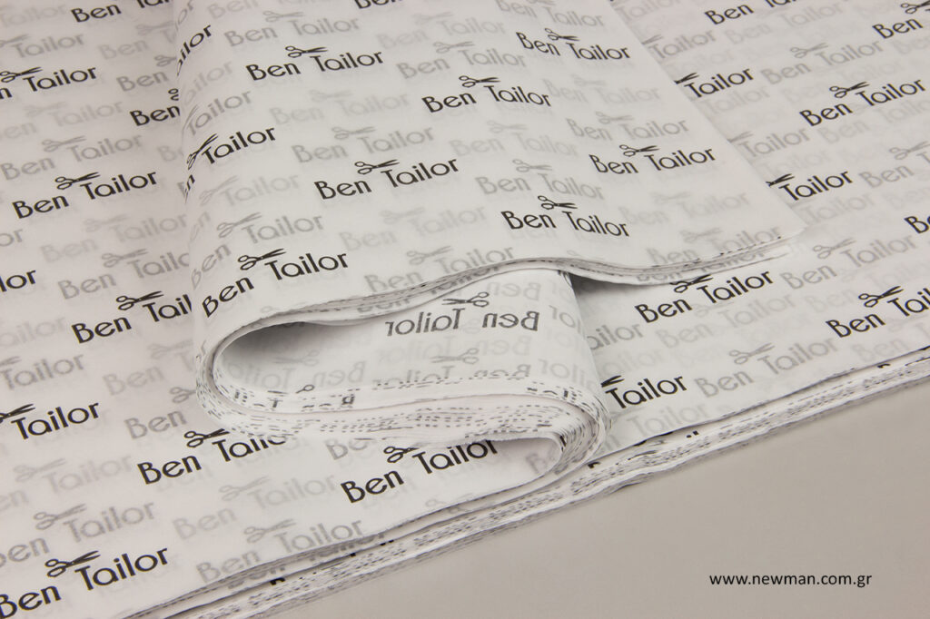 Ben Tailor: Χαρτί αφής με λογότυπο.