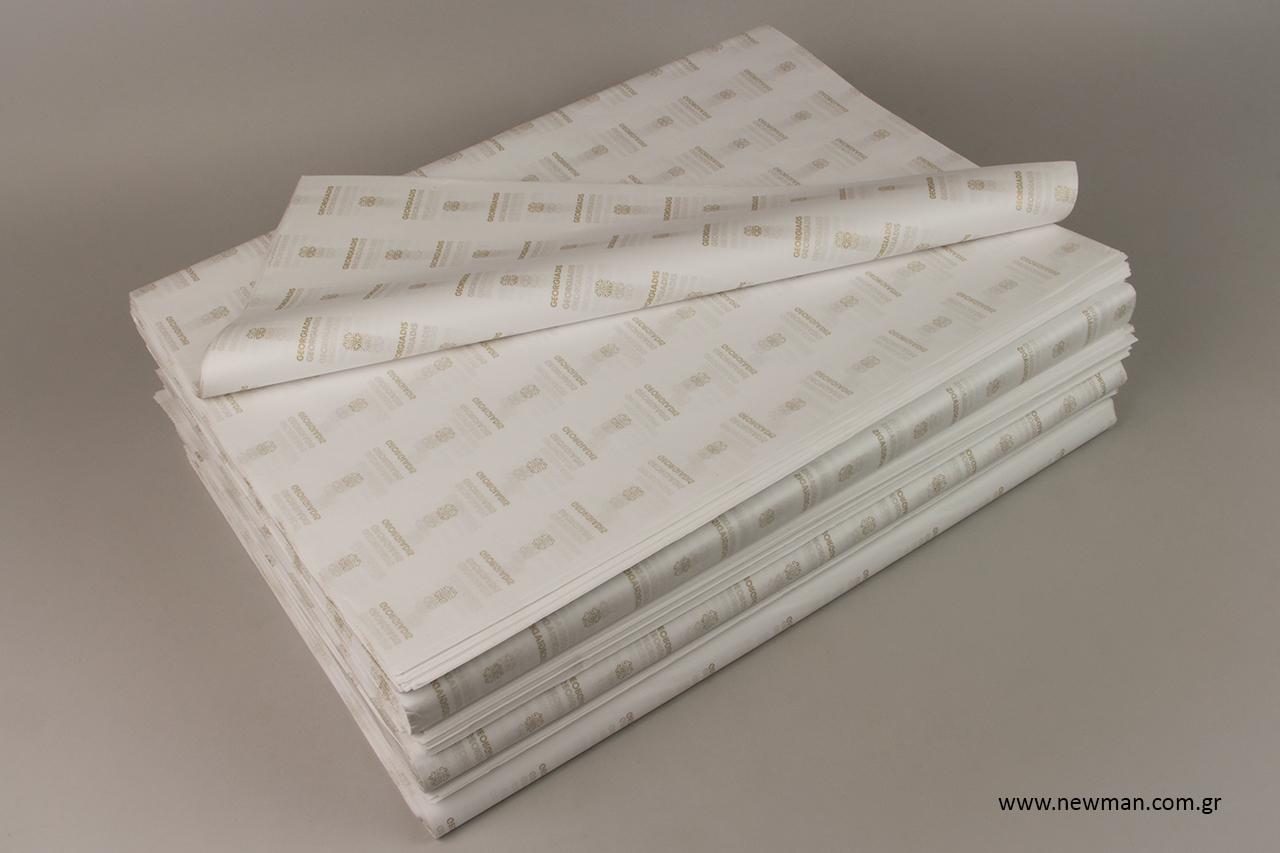 Τυπωμένο χαρτί αφής με χρώματα Pantone.