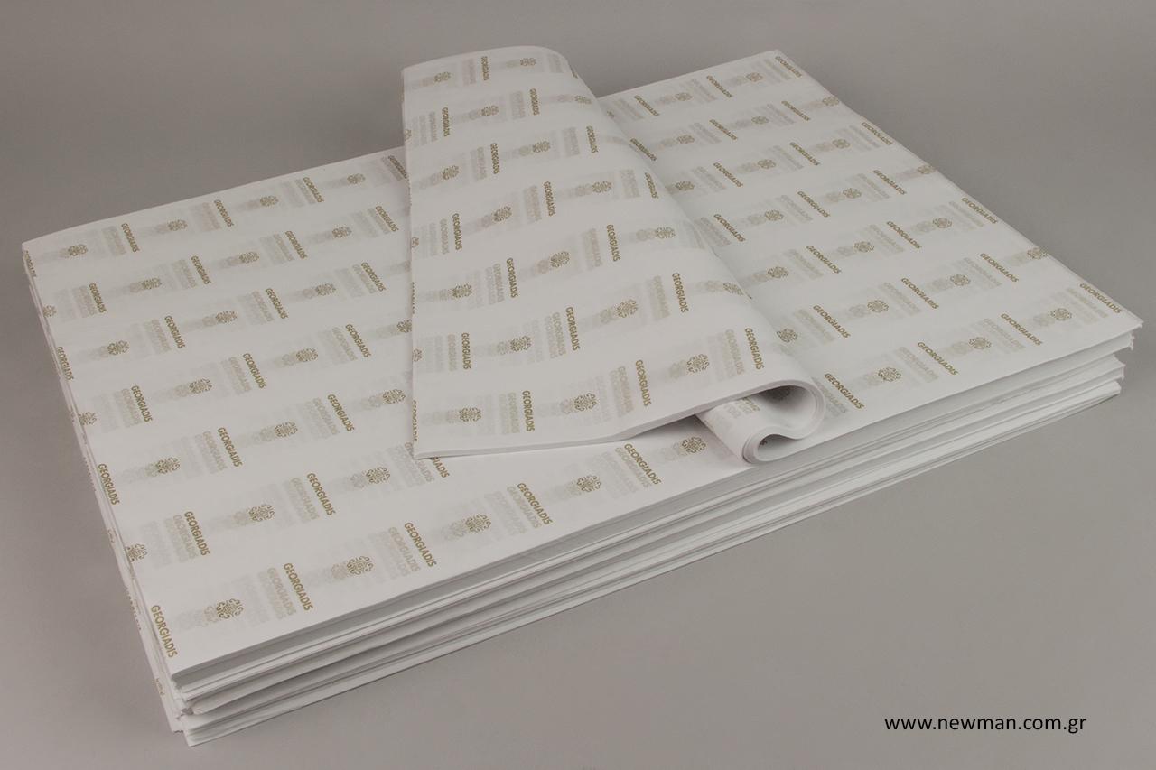 Επώνυμο χαρτί αφής χονδρικής.