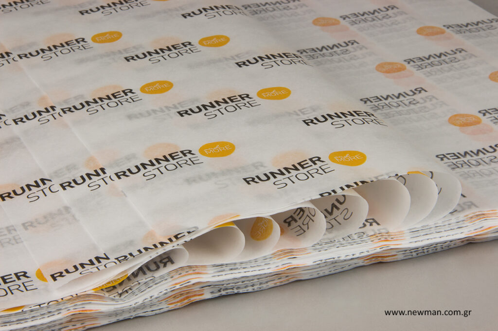 Runner store: Τυπωμένο χαρτί αφής χονδρική.