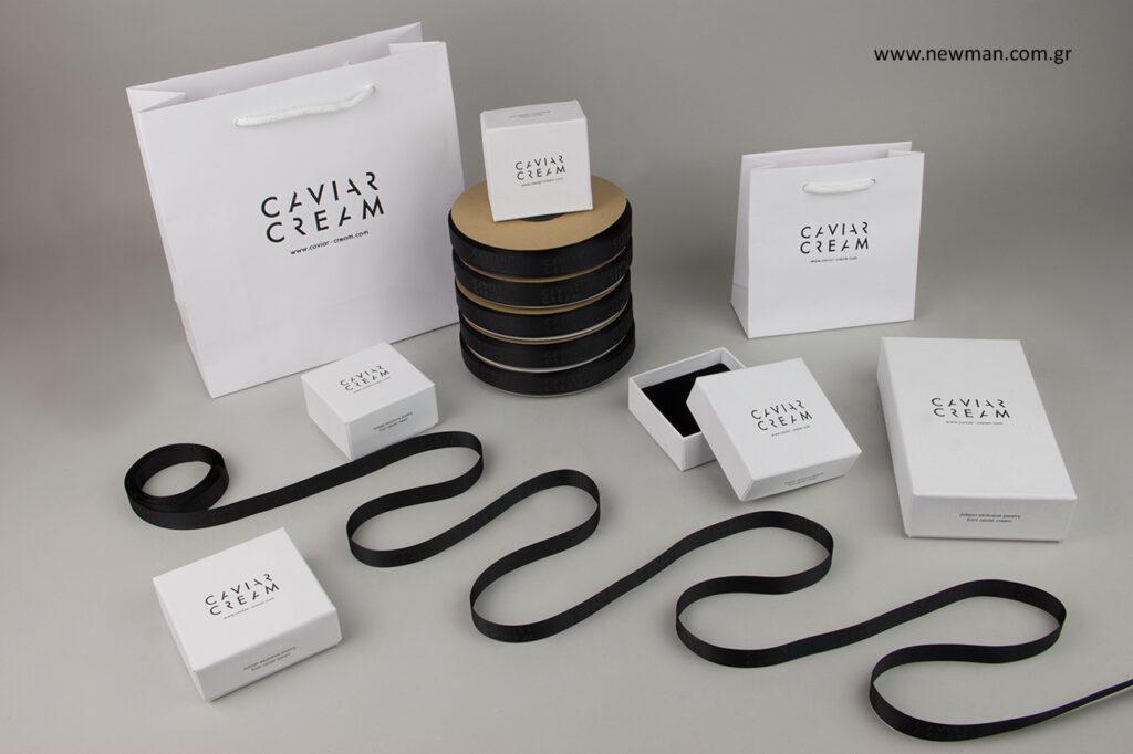 Caviar Cream: Τυπωμένα είδη συσκευασίας NewMan.