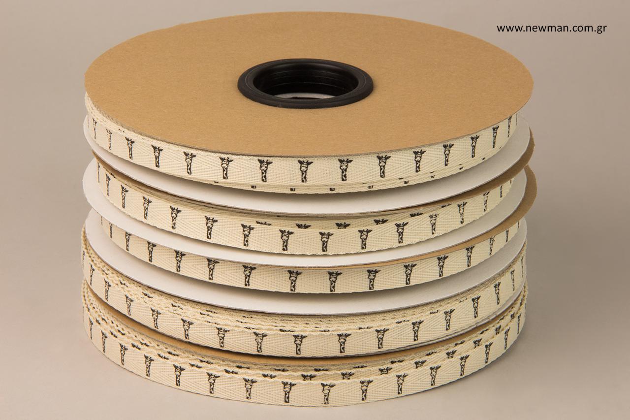 Κορδέλες φακαρόλα με εκτύπωση σε μεταξοτυπία.