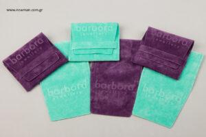 Barbora: Τυπωμένα πουγκιά συσκευασίας NewMan.
