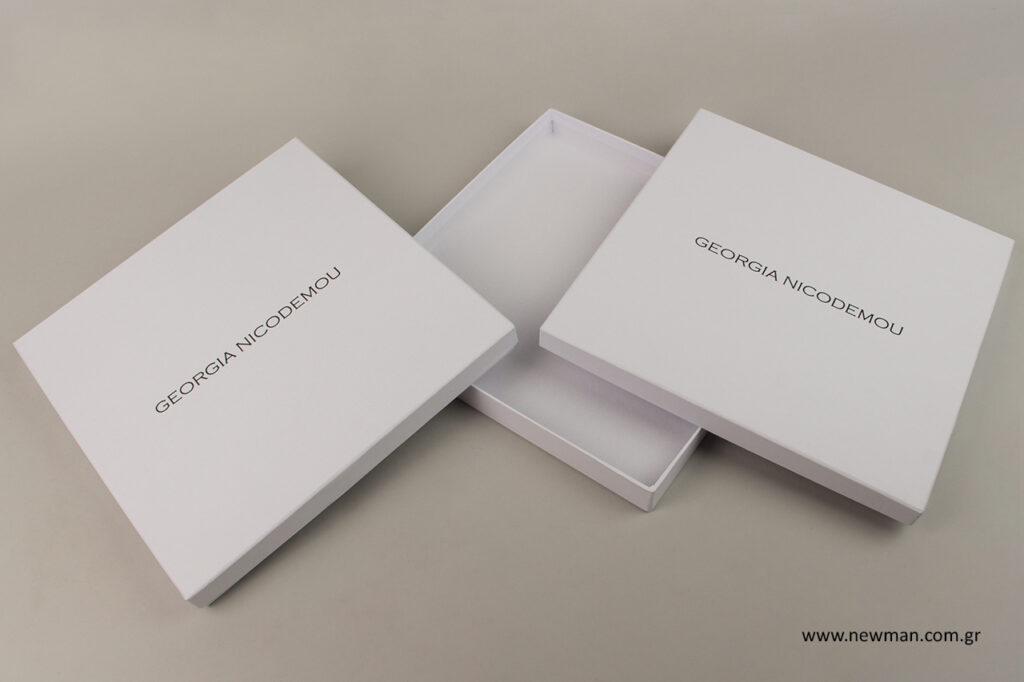 Georgia Nicodemou: Είδη συσκευασίας με εκτύπωση.