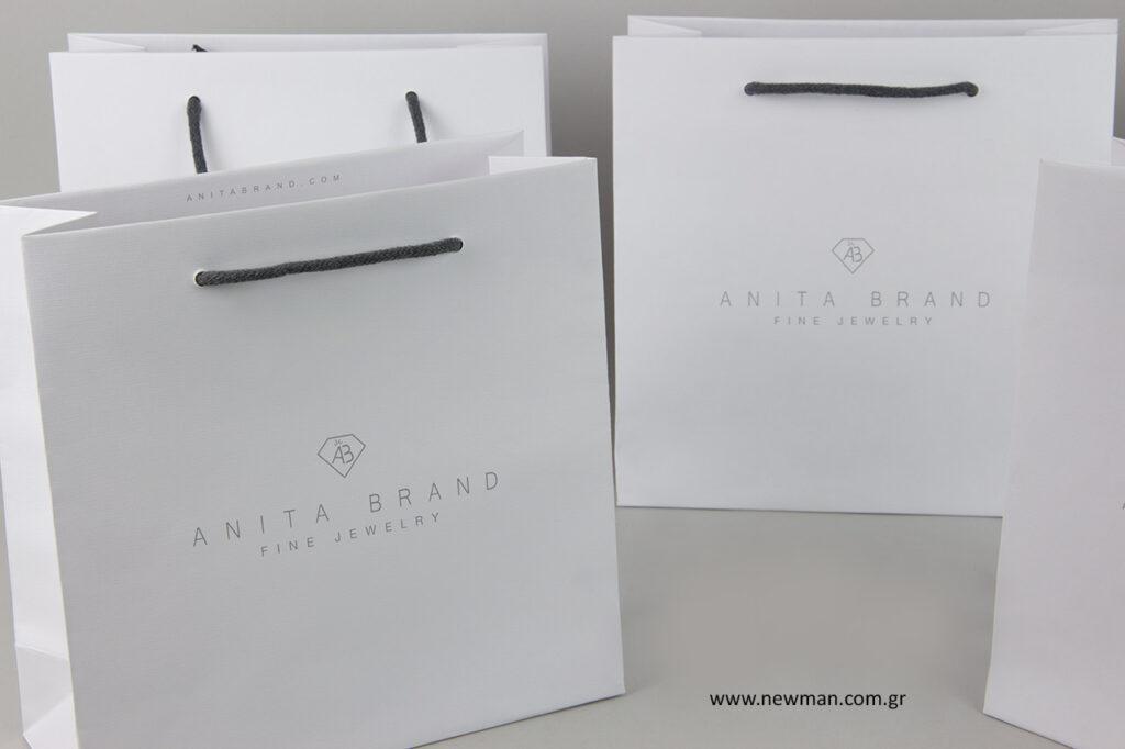 Anita Brand Cosmetics: Τσάντες NewMan για την Ανίτα Μπραντ.