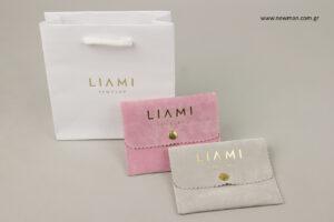 LIAMI Jewellery: Είδη συσκευασίας κοσμημάτων με εκτύπωση.