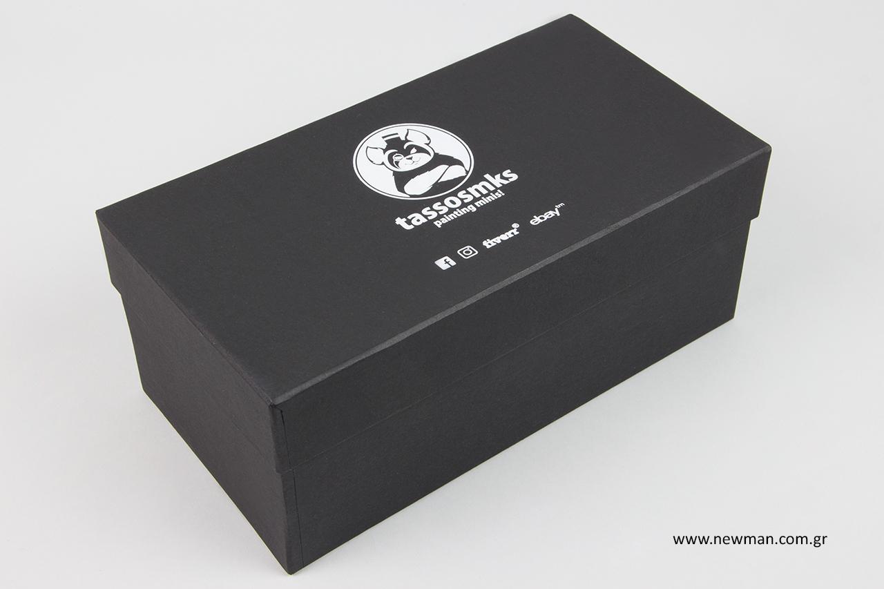 Εξατομικευμένα κουτιά συσκευασίας κατόπιν ειδικής παραγγελίας.