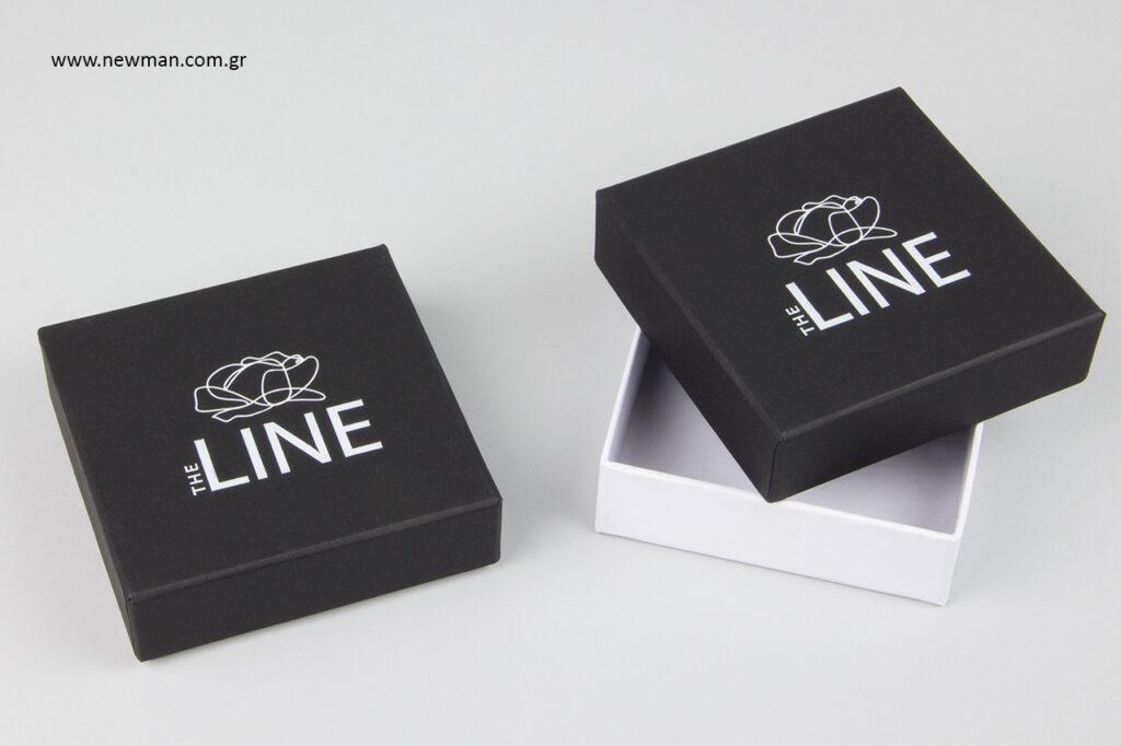 The Line: Συσκευασίες κοσμημάτων με εκτύπωση NewMan.