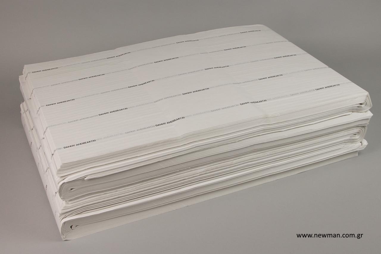 Εκτύπωση σε χαρτί αφής για συσκευασία προϊόντων.