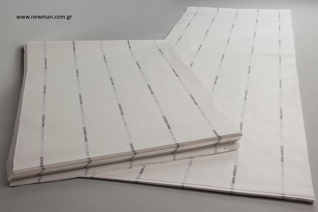 Φλεξογραφική εκτύπωση σε χαρτί αφής χονδρική.